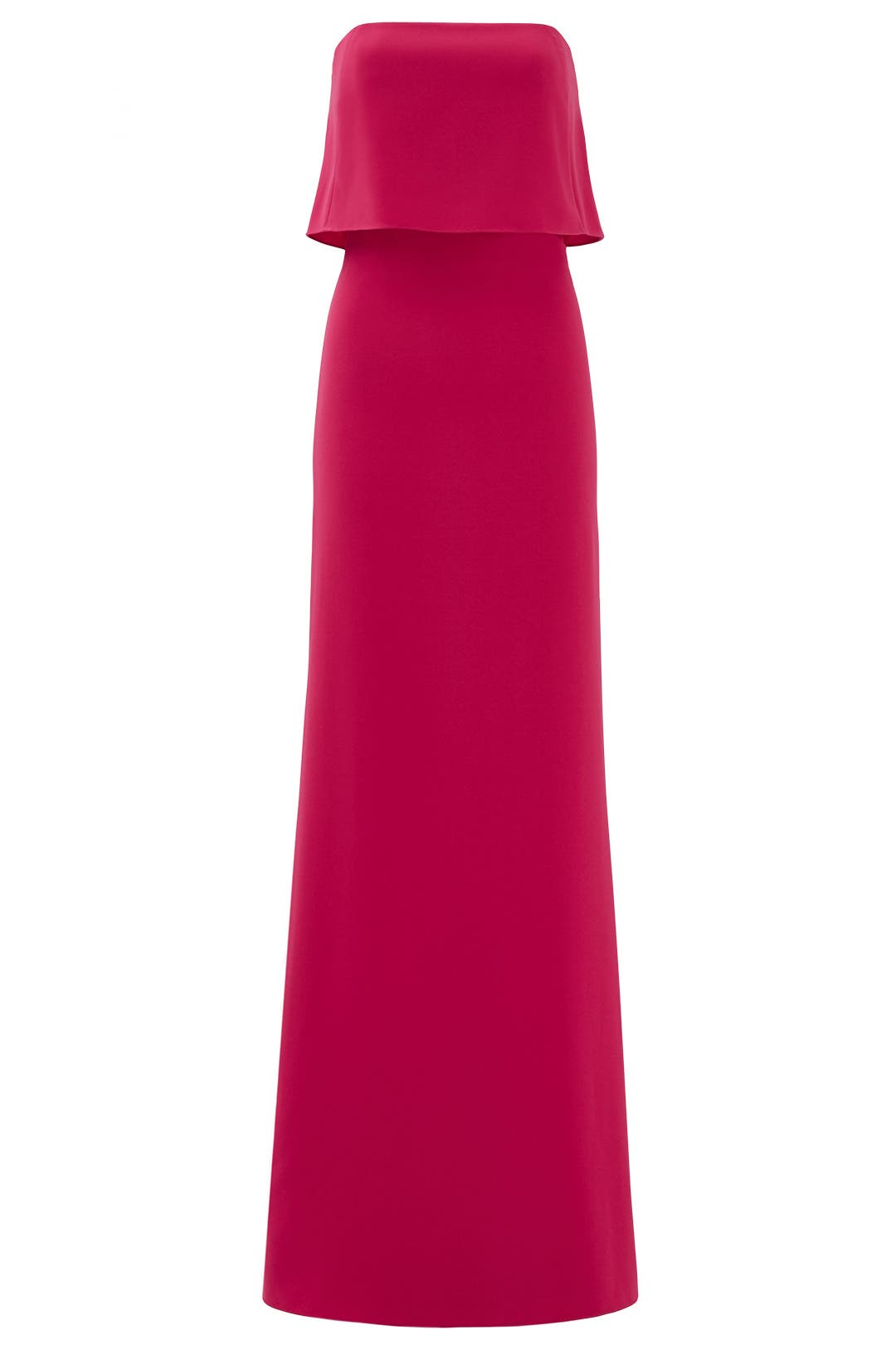 Rent the Runway Halston Heritage Pink Gown
