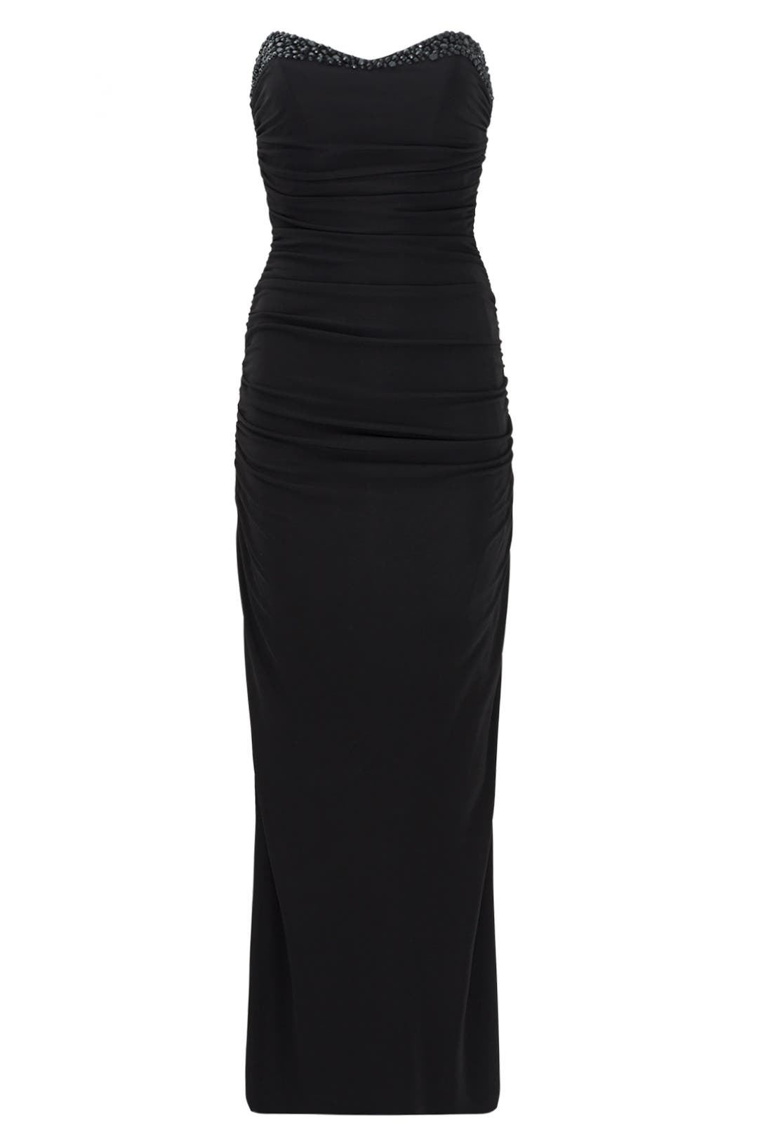 Ruched Sweetheart Gown by Badgley Mischka