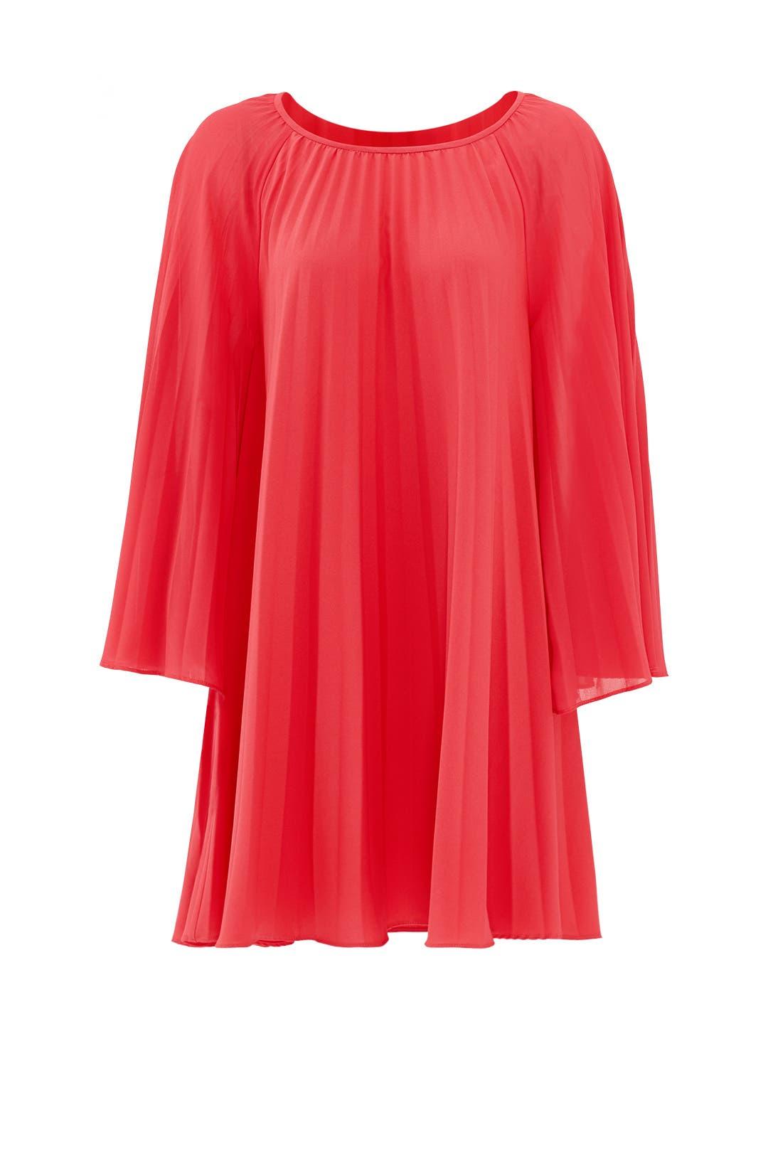 Merengue Pleat Dress by Nicole Miller