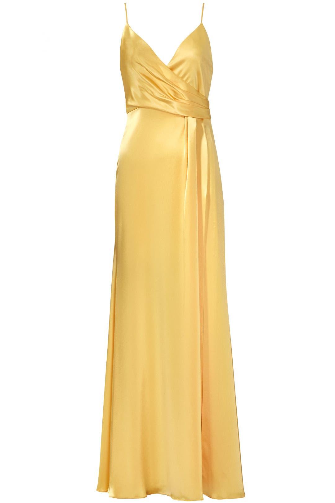 Buttercup Satin Gown by Jill Jill Stuart for $102 | Rent the Runway