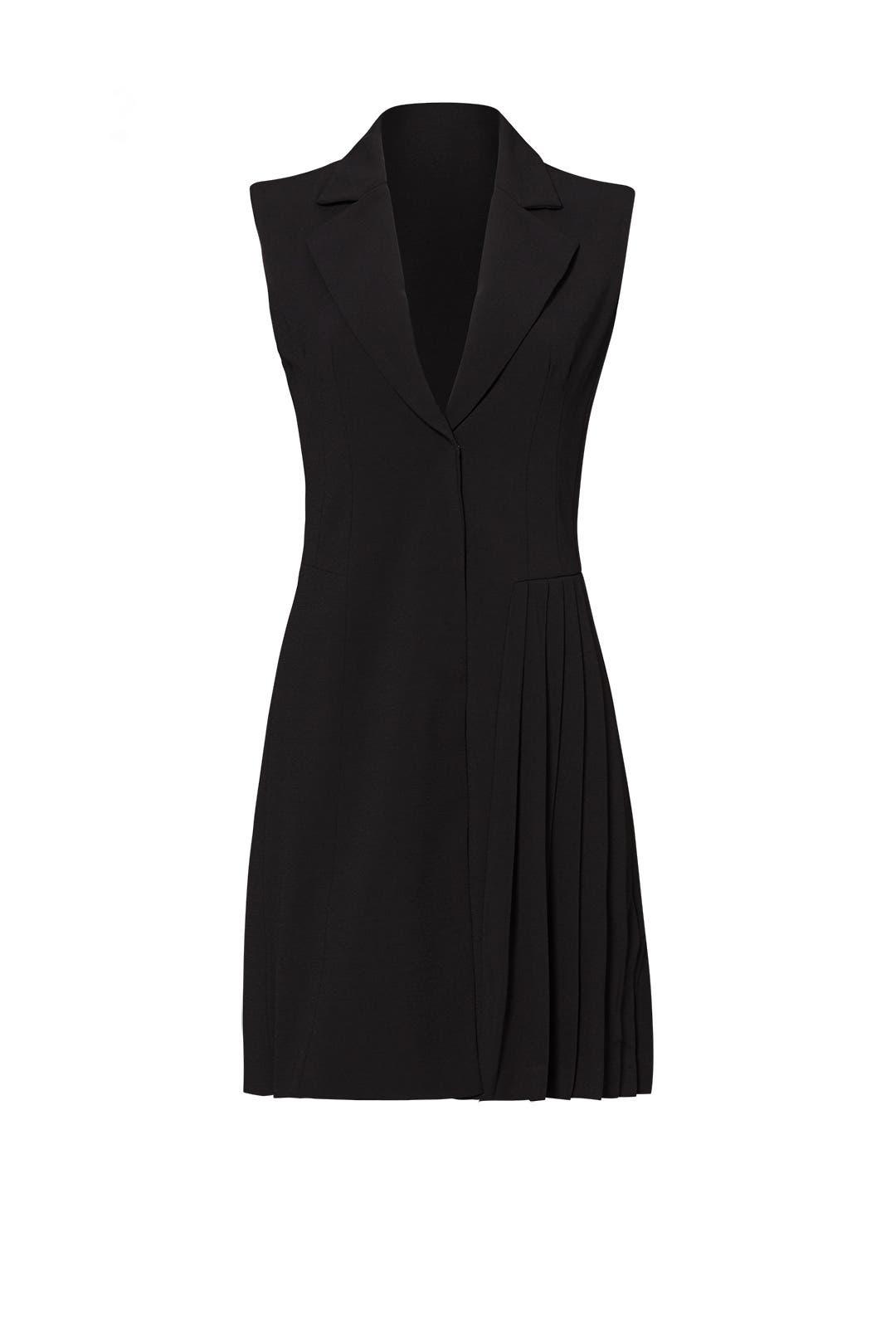Black Vest Dress by ELLIATT
