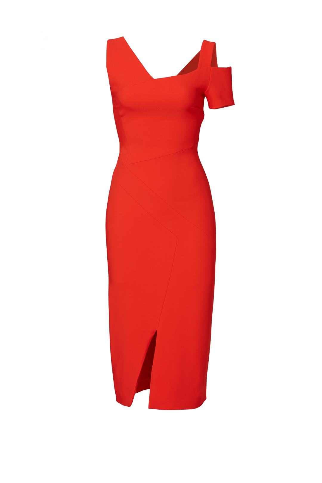 Red Asymmetric Dress by Antonio Berardi for $280 | Rent the Runway