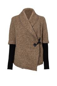 Shawl Collar Toggle Jacket by BB Dakota