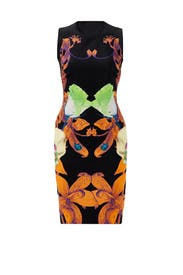 Flower Brocade Dress by Josh Goot