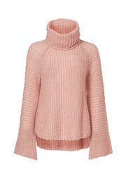Rose Quartz Turtleneck Sweater by CALYPSO St. Barth