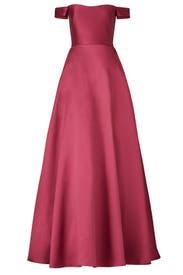 Raspberry Romance Gown by ML Monique Lhuillier
