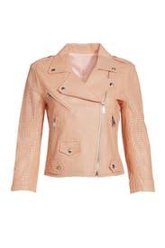 Blush Wes Moto Jacket by Rebecca Minkoff