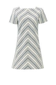 Mix Stripe Shift Dress by See by Chloe