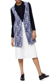 Tweed Duster by Peter Som