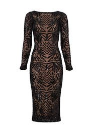 Black Emery Dress by Dress The Population