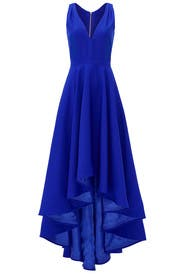 Cobalt Marilyn Gown by allison parris
