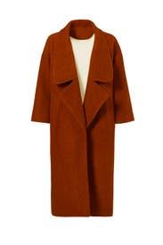 Wren Maxi Coat by Line + Dot