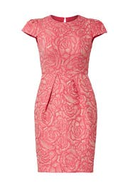 Rosette Envelope Dress by Carmen Marc Valvo