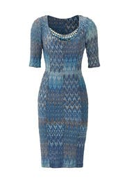 Dip Into The Mediterranean Dress by Missoni