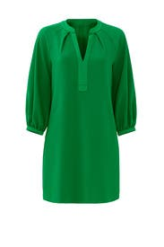 Green Pipkin Dress by Trina Turk