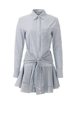 Tie Waist Shirtdress by Derek Lam 10 Crosby
