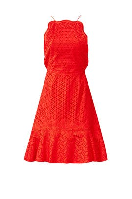 Red Waltz Dress by Sachin & Babi