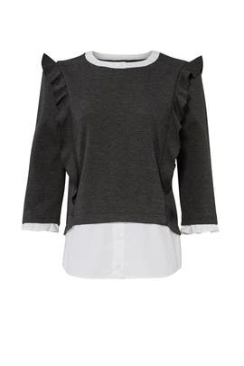 Ruffle Layered Top by Slate & Willow