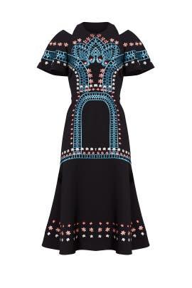 Temperley blue dress