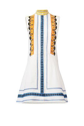 Embroidered Adriana Dress by Tory Burch