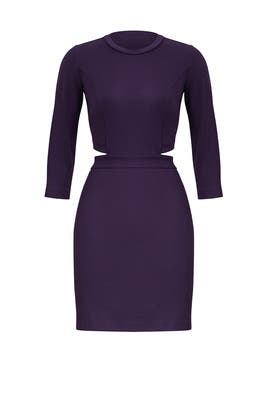 Purple Minka Dress by Amanda Uprichard
