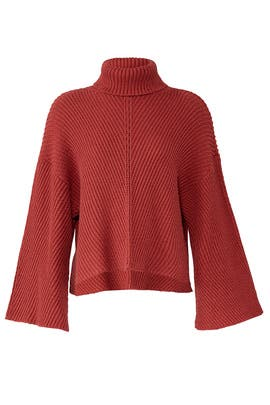 Red Dolman Sweater by cupcakes and cashmere