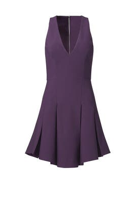 Plum Christine Dress by Elizabeth and James