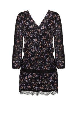 Black Auggie Dress by Joie