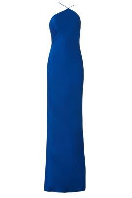Blue Slip Gown by Jason Wu