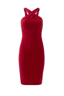 Red Carolyn Dress by LIKELY