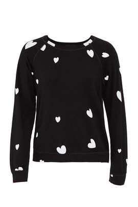 Scattered Hearts Sweatshirt by MONROW