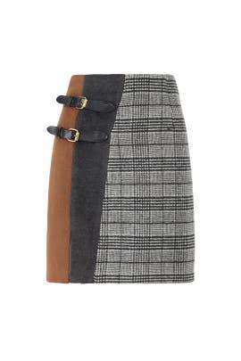 Plaid Tortine Skirt by CAARA