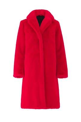 Daphnee Faux Fur Coat by Deby Debo