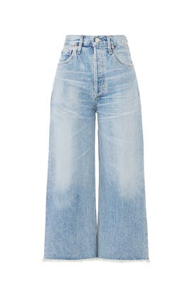 Emma Wide Leg Crop Jeans by Citizens Of Humanity