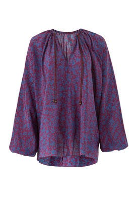 Purple And Blue Chance Top by Elizabeth and James
