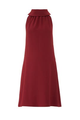 Burgundy Button Maternity Dress by Sail to Sable