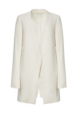 White Winola Jacket by Theory