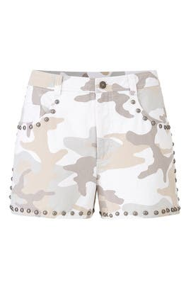 Camo Ellie Shorts by Cinq à Sept