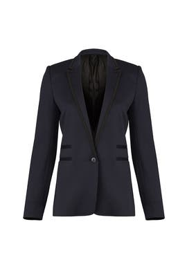Navy Suit Jacket by The Kooples