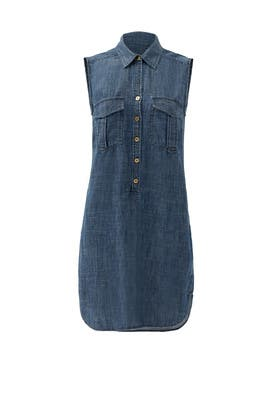 Denim Jamille Dress by Trina Turk