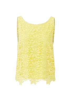 Yellow Daisy Tank by BB Dakota