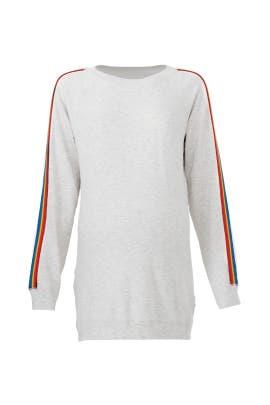 Grey Rainbow Maternity Sweatshirt by MONROW