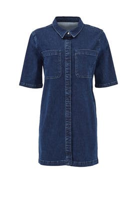 Denim Rory Blouse Dress by ST by Olcay Gulsen