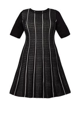Black Stripe Tennis Dress by Slate & Willow