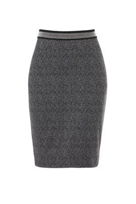Brushed Knit Pencil Skirt by Bailey 44