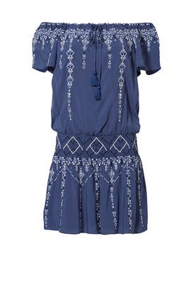 Blue Tammy Dress by Parker