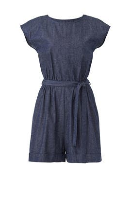 Speckled Denim Romper by Elk