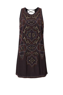 Black Mandala Dress by Free People