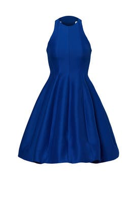 Royal Blue Belle Dress by Halston Heritage