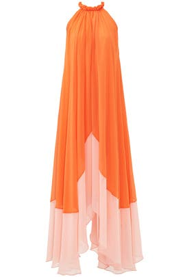 Orange Iris Maxi by SALONI